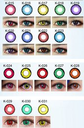 Wholesale 2015 new KML models color contact lenses DHL shipping years experience Recognized comsmetic contact lenses