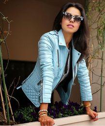 Image result for Women's leather coat models