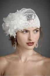 Wholesale New Bridal Hat Birdcage Wedding Hats And Fascinators Cocktail Hair Accessories Headdress Couture Headpieces