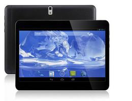 10 pouces Android 4.4 3G Téléphone appel Tablet PC Quad core MTK6582 2G + 16G GPS bluetooth double caméra comprimés avec 2 SIM Phablet