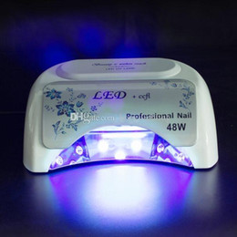 Wholesale Hot selling W nail lamp k UV LED CCFL high power Polish Dryer Light Lamp Curing Tool stock in US DE