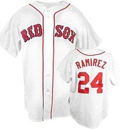 2017 boston home 2015 New Manny Ramirez Boston red sox Men Women Youth 24 Manny Ramirez jersey home away white red gray jerseys size small-3xl free shipping cheap boston home