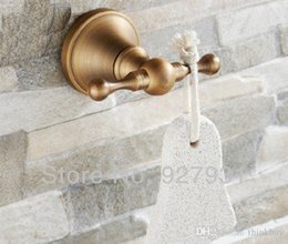 antique brass dual hook bathroom towel hanger home coat hat hanger wall mounted brass coat hook pieces