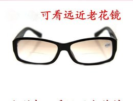 Wholesale High Quality Resin glasses HD Nano Diamond Presbyopic glasses for Elders With different Degrees Double optical presbyopic glasses