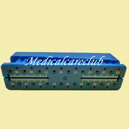 Wholesale Endo Block Files Measuring Tools Accessory Endodontic Ruler Root canal measurement