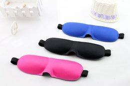 Wholesale Travel Rest D Sponge Eye MASK Sleeping Eye Mask Cover for health care to shield the light