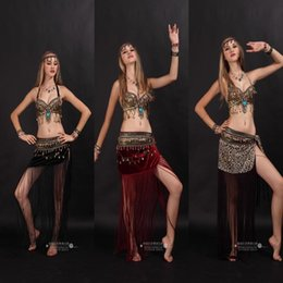 Wholesale 2015 Tribal Belly Dance Costume Stage Performance Plus Belly Dance Tribal Costumes Plus Size Clothing set Dance Wear for Belly Dance A41