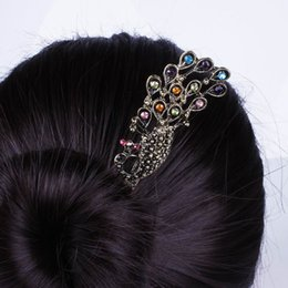 Wholesale New Women Rhinestone Hair Decorations Chic Lady Hairbands Hair Ornaments Accessory For Party FS9035