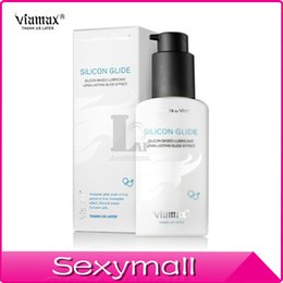 Wholesale Silicone Glide ml Silicone Based Lubricant Long lasting Glide Effect Body Vaginal lubricant for Male Lasting A0553R