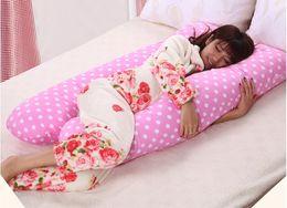 Wholesale 2016 New Maternity Printed Cartoon Pillow U Type Side Sleeping Pillow Multifunctional Nursing Waist Pillow