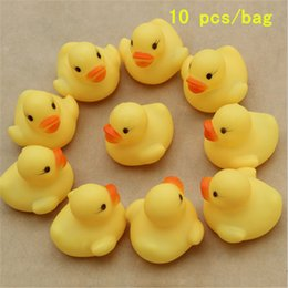 Wholesale Baby Bath Toys Sound Rubber Duck Floating Bath Toys Vinyl Doll Swimming Children s Educational Toys Toys