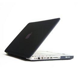 Esmerilado de goma dura mate Shell Laptop Cases completa del cuerpo de la cubierta del caso del protector para Apple Macbook Pro 13