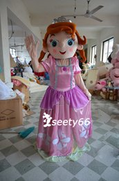 Wholesale New Arrival Sofia the First Princess Costume Mascot Cartoon Adult Size School Suit