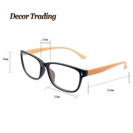 trendy eyeglasses ysgm  Wholesale-Retro Fashion Imitation Wood Glass Frame Men's Eyeglass Radiation  Protection Glasses Trendy No Degree Plain Glasses For Men