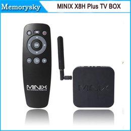 Amlogic S812 noyau boîte de tv quad Minix néo-X8 H plus Android 4.4 boîte de Smart TV 2 Go / 16 Go Minix X8h néo ainsi que 010 009
