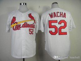 online shopping Cardinals Michael Wach White Men s Baseball jersey Cheap Athletic Outdoor Apparel Stitched Name and Logo Allow Mix Order