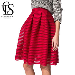 Red High Waisted Skirt Plus Online | Red High Waisted Skirt Plus ...