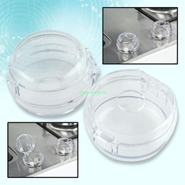 Wholesale 2PCS OVEN STOVE KNOB GUARD BABY KIDS CHILD SAFETY TOOL EQ0567