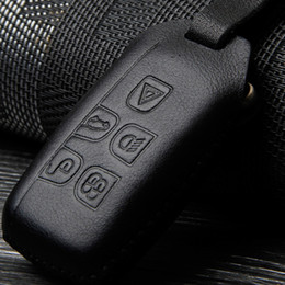 Натуральная кожа брелок для ключа чехол для LAND ROVER RANGE ROVER SPORT Evoque Freelander DISCOVERY брелок для ключа брелок для ключей автоаксессуаров