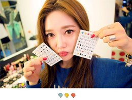 Wholesale GOOD QUALITY Cheap Cartoon Fancy Korean Export Nail Stickers Lovely Nail Art Stickers Nontoxic Nail Decals Super Cute