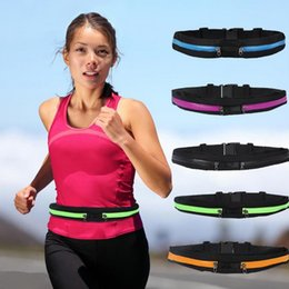 online shopping Sports waistpacks personality Waterproof waistline package ourdoor fitness exercise running travel pockets keys phone case bags purse gift