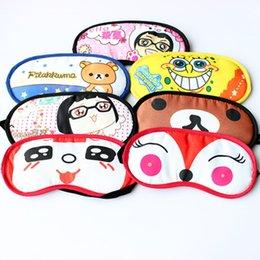 Wholesale Eye Mask Shade Nap Cover Blindfold Sleeping Sleep Travel Rest WG19