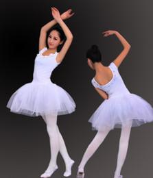 Wholesale Women s white modal sizes Ballet Skirt tutu Ballerina Skirt