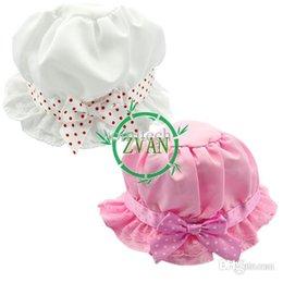 Wholesale Silk baby bucket hats newborn hat Floppy Sunhat Princess hat Children OK hats