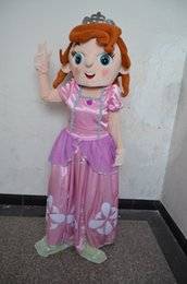 Wholesale new style Christmas fancy dress Sofia the First Mascot Costumes halloween easter Performance Animal adults costumes for guys