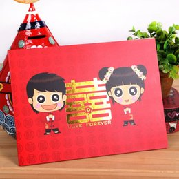 Wholesale Wedding supplies wedding guest signature book gifts book gift book title list of the nominated books accounting of the sign