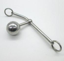 Wholesale Adulto Jogo de aço inoxidável Castidade Cintos Feminino Vagina Toy Sexo Para Mulheres Bondage castidade dispositivo BDSM Brinquedos