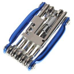 Завод Цена 11 в 1 Многофункциональный Маунтин велосипед Тира Repair Tool Set набор, включающий отвертка Hex отвертка ключа Spoke