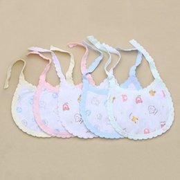 Wholesale Wholesales Newborn Baby Bibs Soft Waterproof Cotton Bibs Comfortable Bibs For Babies Printing Absorbent Baby Burp Cloths VT0125 Kevinstyle