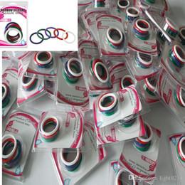 Arco-íris Sex Toys Homem Penis Rings Cock Ring ejaculação retardada produtos para adultos Carcaça Atraso de bloqueio Loops Cockrings 5pcs Per Set A36