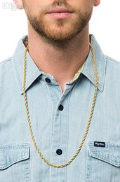 how to wear a gold chain with a polo