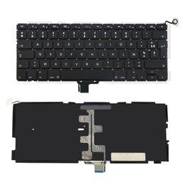 Original Testé clavier pour ordinateur portable avec rétro-éclairé Français Remplacement de la mise en page pour Apple Macbook Pro Unibody 13,3 A1278 mi-2009 à mi-2012