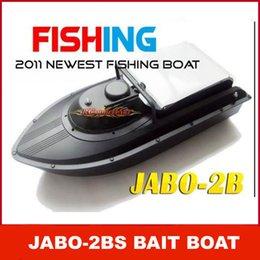 JABO-2BS control remoto de cebo vivo RC con el buscador de los pescados Actualiza JABO-2B 2BS Jabo 2b barco RTR RC batería incorporada de DHL
