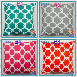 discount home decorating bedding home cotton rurality modern flower pillow case decorate sofa bed pillow case