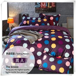2017 denim duvet cover full cotton home textile bedding set denim style  Double quilt bedspread solid