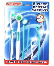 Wholesale Set Dental Care Kit Oral Care Clean Tooth Tongue Brush Dental Floss