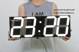 Discount Led Large Display Digital Wall Clock 2017 Led Large