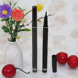 Wholesale 2015 New Design MC Liquid Eyeliner Pen Water soluble Waterproof Liquid Eye Liner Pencil Black Makeup Eye Liner Pen Black Liner Long Lasting