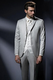 Discount Mens Fashion Silver Suit | 2017 Fashion Mens Grey Silver