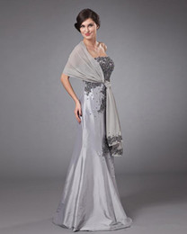 Mother of the Bride Dress with Shawl