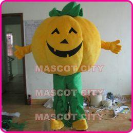 Wholesale Halloween Pumpkin Man Mascot Costume Adult Size Custom Mascotte Costumes SW21