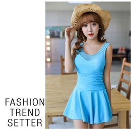 dress style bathing suits slimming