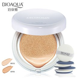 Wholesale BIOAQUA cushion BB Cream Skin Whitening BB Creams faced foundation makeup concealer easy on the makeup moisturizing g