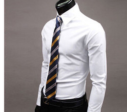White Office Shirt Men Online | White Office Shirt For Men for Sale