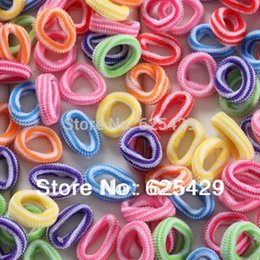 Wholesale children scrunchy mix black elastic fashion of hair accessories for girls kids rubber band ties hair rope for baby headband