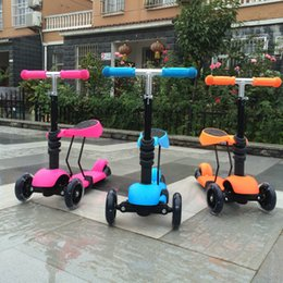 Wholesale Colorful Triple Children Scooter Kid Scooter Slippery Car Deals in Special Edition Baby Walker